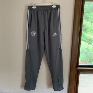 Adidas Manchester United Joggers Men's Large